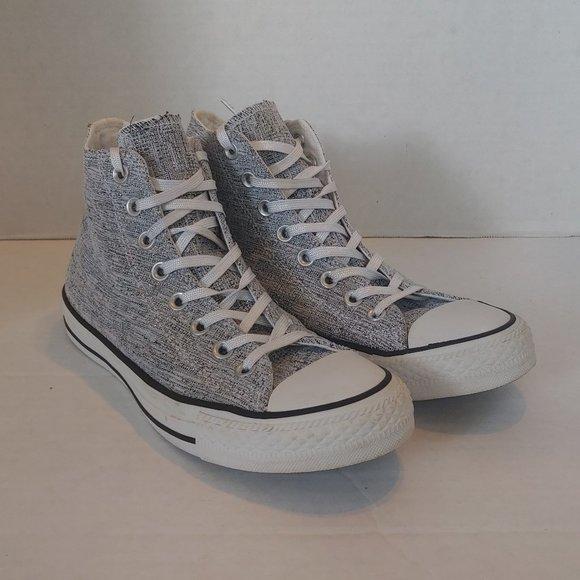 Converse Shoes | Light Gray High Tops